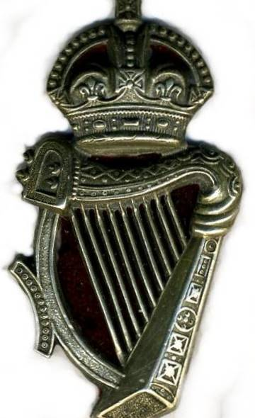 Uniform Cap Badge of The Royal Irish Constabulary