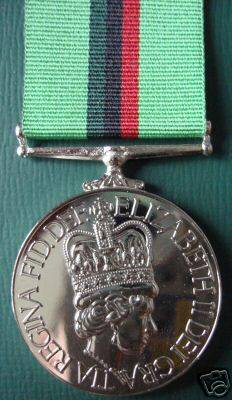 Royal Ulster constabulary (RUC) Service Medal